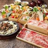 宮崎の美味しさを万遍なく堪能いただけるコース揃えました