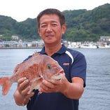 九州の鮮魚【延岡市沖の島浦】