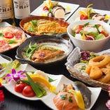 貸切をはじめ、ご要望に応じて系列列店から本格料理をお届け!