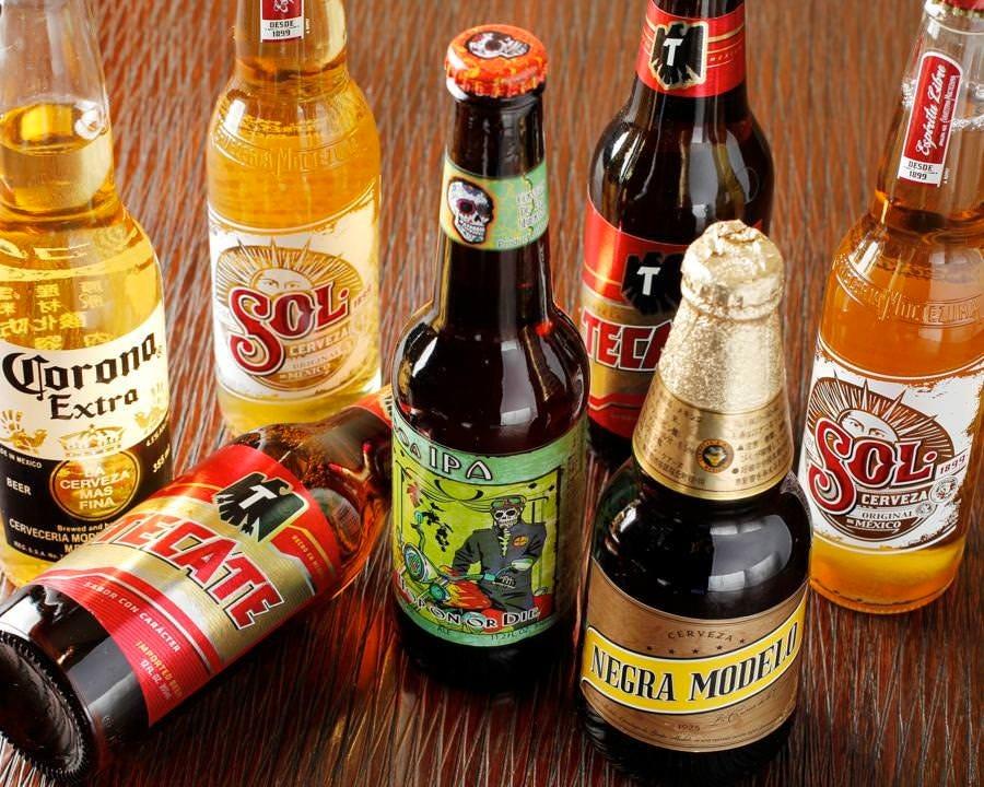 メキシコビール取り揃えております♪