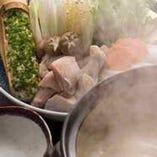 甘みがあり柔かな特選博多地鶏の水炊きです。