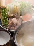 博多どりの水炊きコース 5,500円(飲み放題付7,700円)