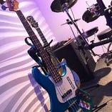 ギター1本・ベース1本