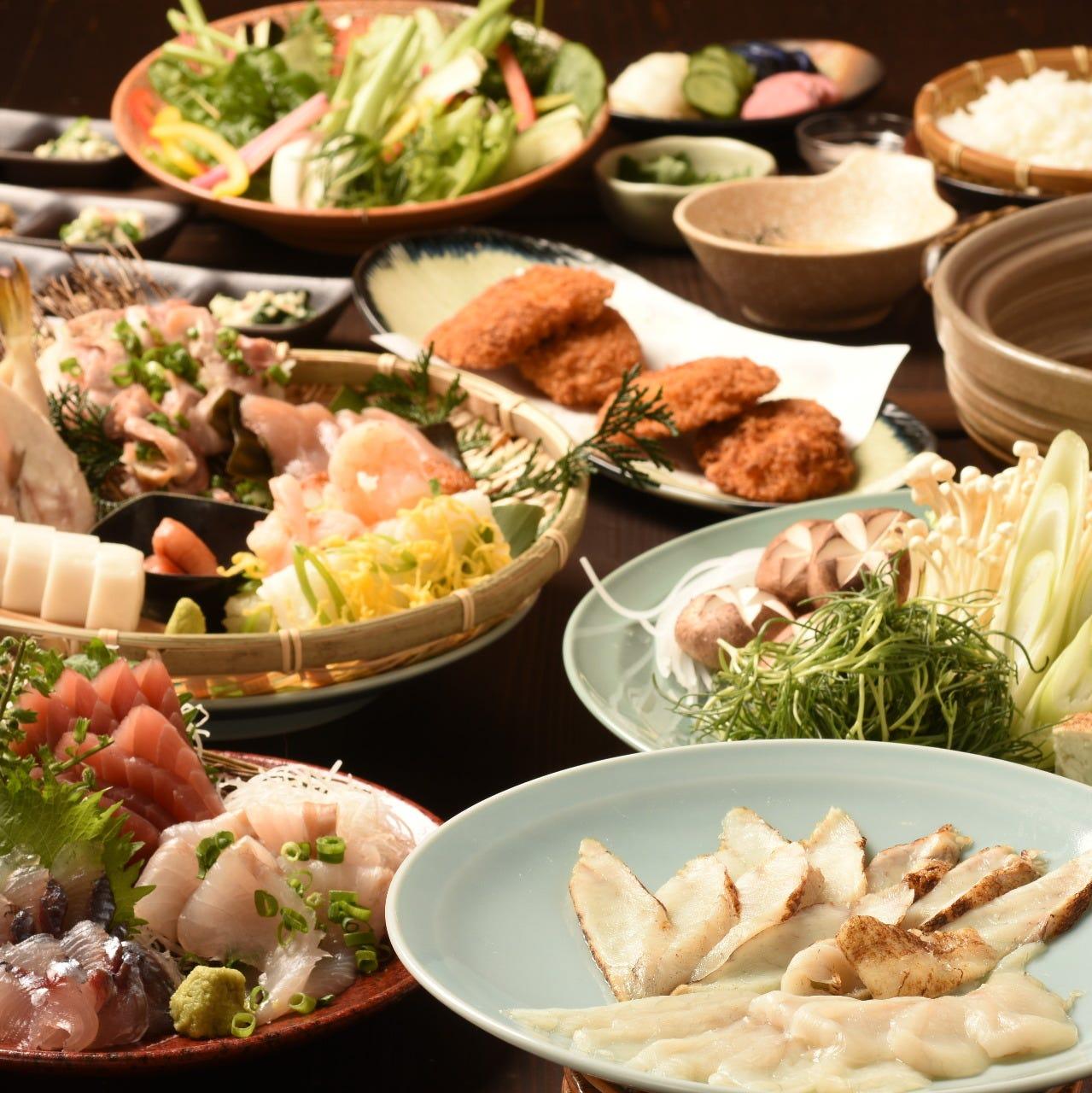 ≪山口の美味しさ≫いっぱいのご宴会