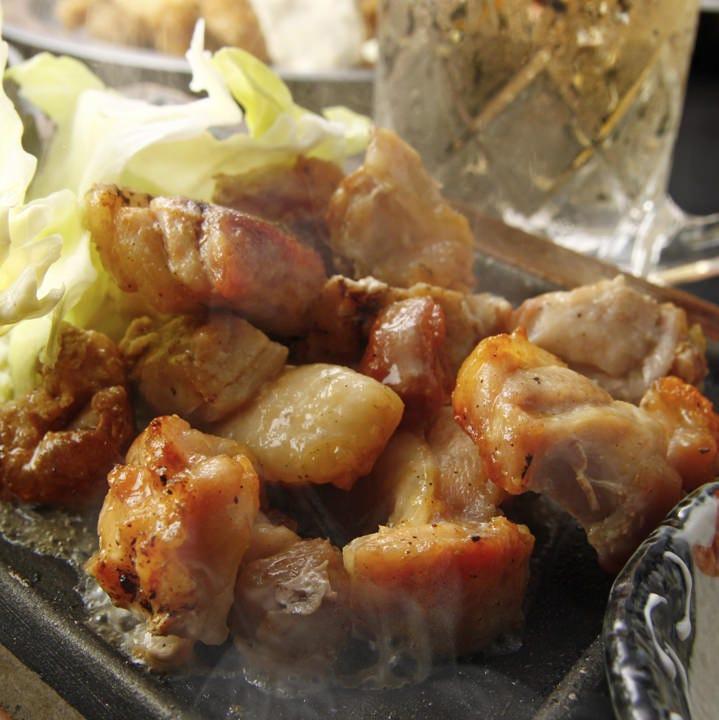 長州どりを使った串焼や鶏料理☆