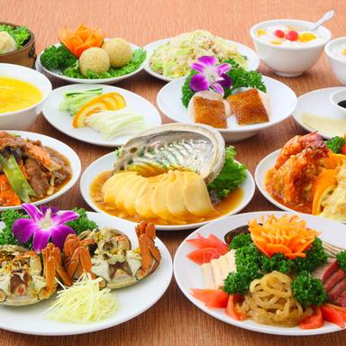 横浜中華街 宴会 香港路‐龍城飯店  コースの画像