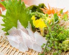 広島地物食材【穴子の刺身】