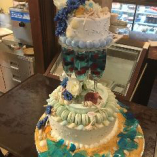 ウェディングケーキ、オリジナルケーキ作成