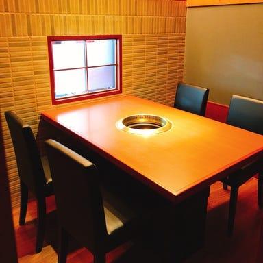 個室焼肉 山水縁 虎ノ門本店 店内の画像