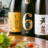 日本酒、焼酎もご用意しております。