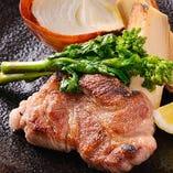 茨城県産の無菌豚は肉質が良く、甘みが強いのが特徴です。