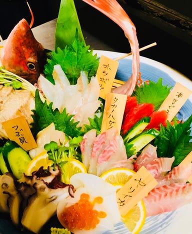 馬刺し 旬魚 酒場ヒノマル 中村公園駅前店 コースの画像