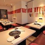 ◆テーブル席とお座敷席をご用意。ご予約はお早めにご連絡ください!