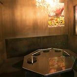 【5名様まで 円卓個室】ぐるっとテーブルを囲んで座る、お家感覚で楽しめる空間