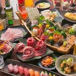 全メニュー食べ放題!お寿司、一品、デザート何でもどうぞ!