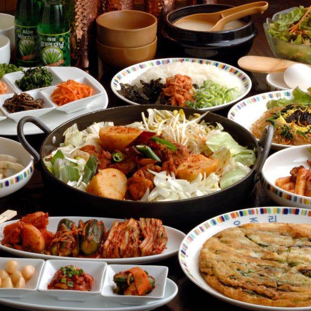 沢山の韓国料理をご満足頂けるコース