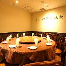 [接待・会食に]完全個室を完備
