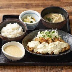 伊達鶏使用鶏南蛮タルタル定食