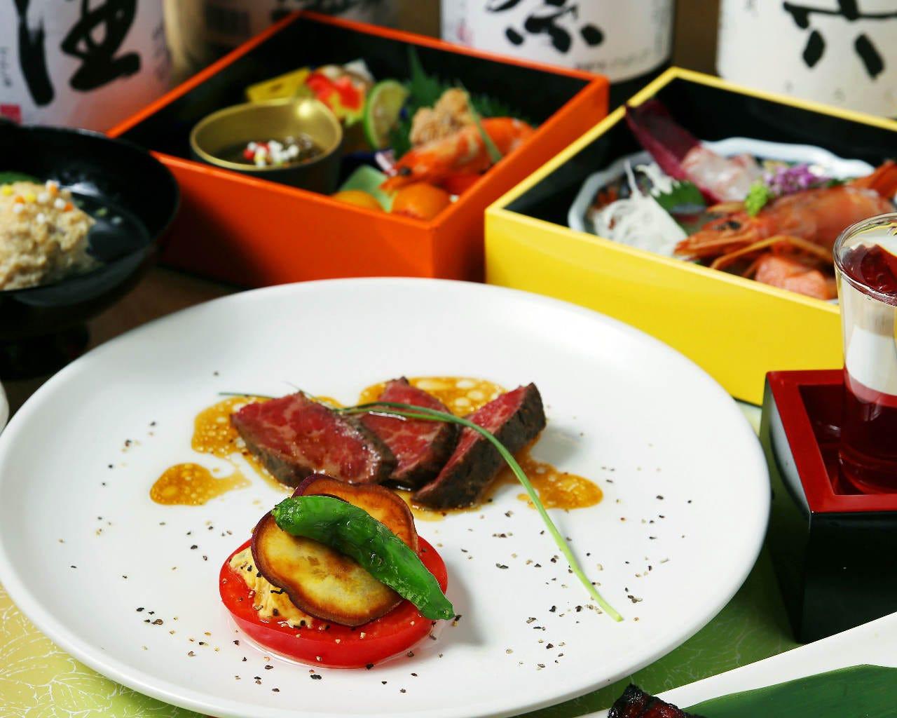 旬の食材を生かした和料理