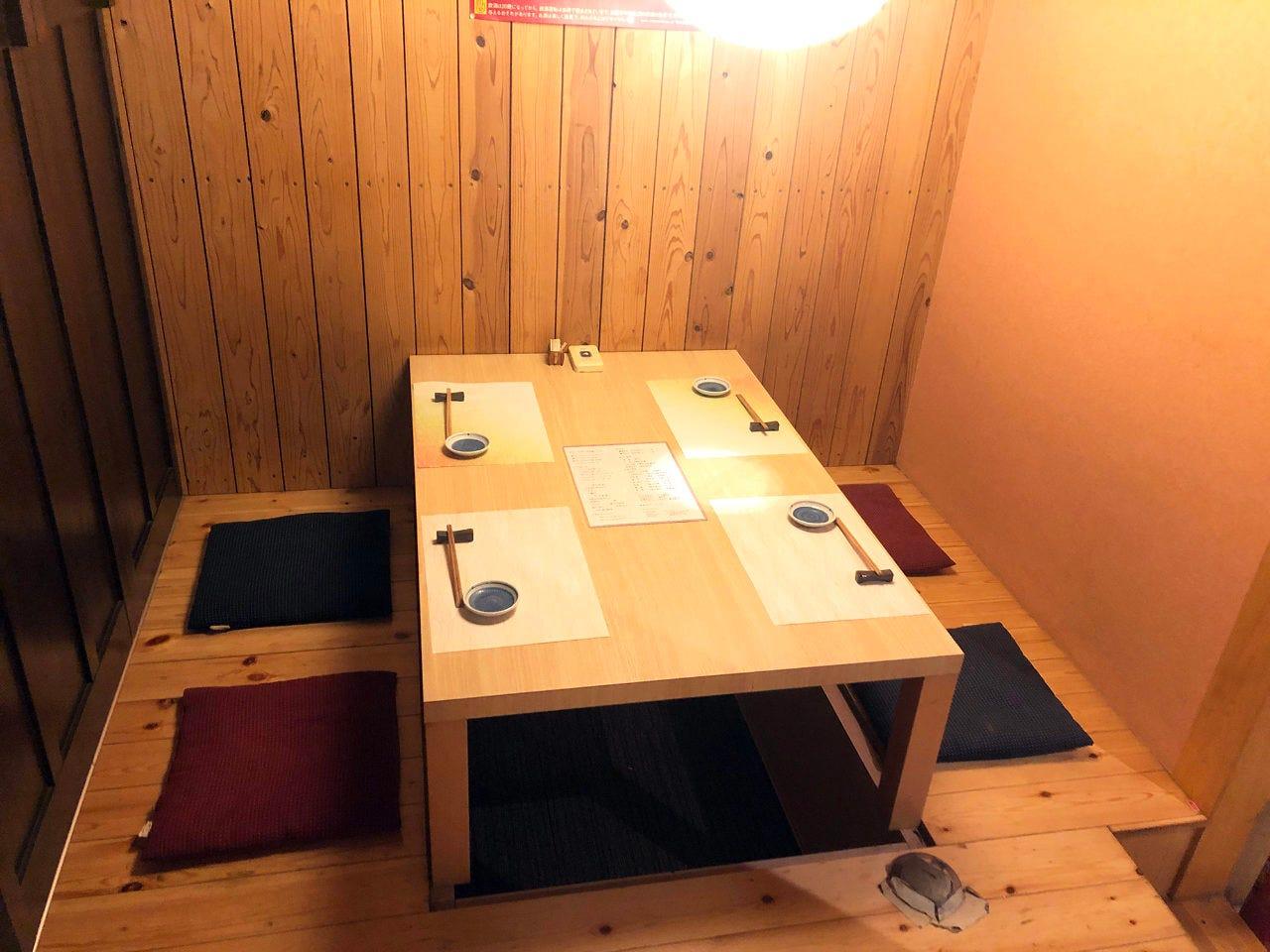 接待からご宴会まで、和の個室席
