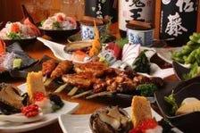 各種宴会に!『丹波黒地鶏』や『オーナーが釣り上げた鮮魚』が味わえるコース