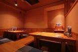 【梅島駅から徒歩30秒!】15名様用の掘りごたつのお座敷あります