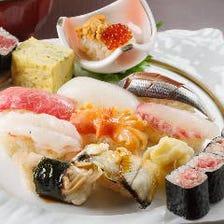 1皿110円から楽しめる本格江戸前寿司