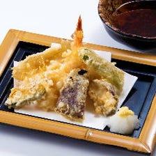天ぷらや焼物まで一品料理も充実♪