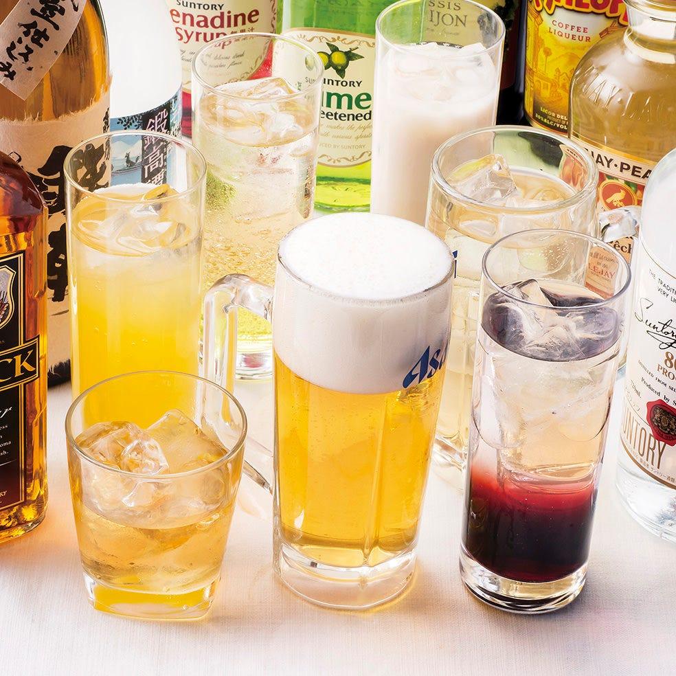 ウーロン茶から日本酒まで