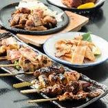 鳥せゑの自慢は九州産の銘柄鶏を使用した鶏料理