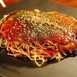 肉玉そば(極細生麺) or うどん