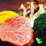 北海道産黒毛和牛ランプステーキ