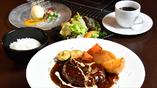 北海道産黒毛和牛100%ハンバーグセット