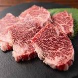 """""""黒毛和牛"""" 鹿児島県産の厳選牛を心ゆくまでご堪能ください。"""