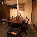 【~4名様】テーブル席
