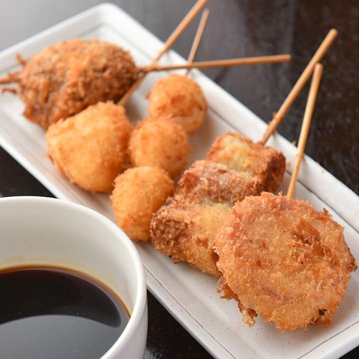 串焼き、北海道産メニュー人気です♪