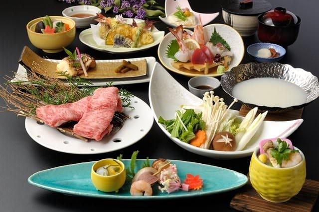 会席コース『桂(かつら)』6,000円(税込6,600円)料理例