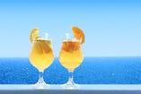 8周年(レモン/オレンジ)モヒートビール