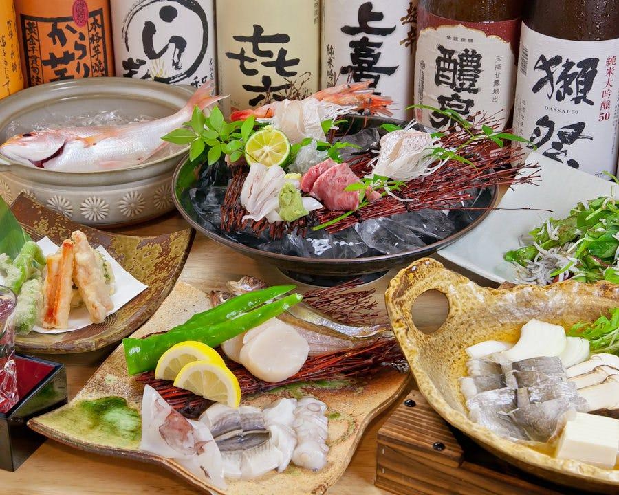 ≪季節コース≫ お料理のみ6600円コース