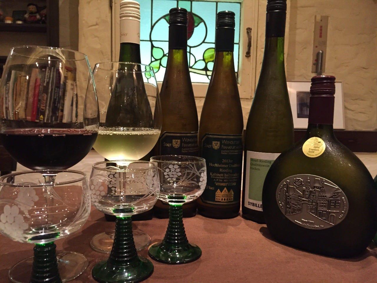 レアなドイツワイン