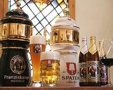 ドイツビール(4種類)他が飲み放題