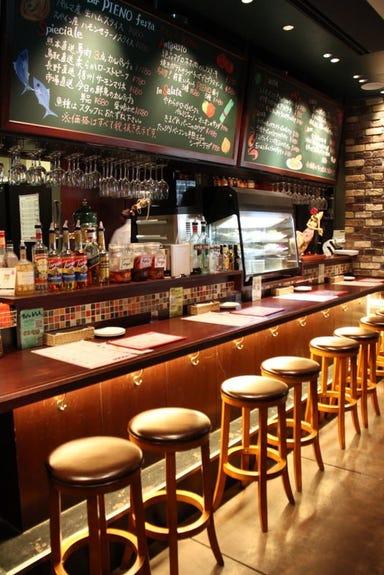 Italian Bar PIENO festa  店内の画像