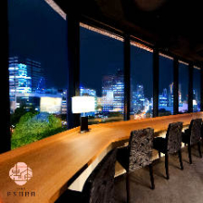 札幌の景色を一望できる空間