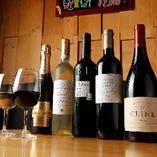絶品肉料理と楽しみたい厳選ワイン16種、ボトル2,090円(税込)~