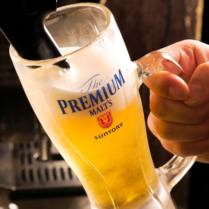 ビール好きの期待を裏切りません!