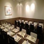 テーブル席個室(10名様~25名様)