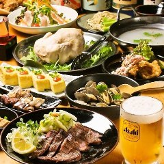 鶏刺身、九州料理、 炭火焼 うえちゃん