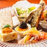 記念日や特別なお食事にはテーブルコーディネイトを変え、おもてなし♪