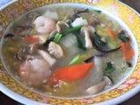 海鮮スープそば