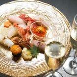 …━旬の味わい━… 四季折々の食材を贅沢に使用する料理の数々